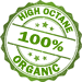 high octane organic logo
